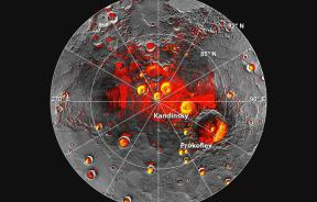 water ice on Mercury