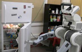 Beer-Pouring Robot Servant Predicts Human Movements