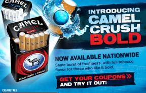 Camel Crush Cigarette Ads Target Youth, Say Health Groups