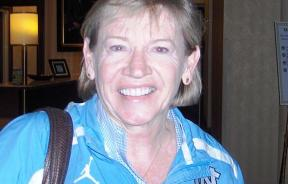Sylvia Hatchell at the 2011 WBCA Convention in Indianapolis, IN