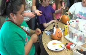 Residents Prepare For Their Halloween Soiree