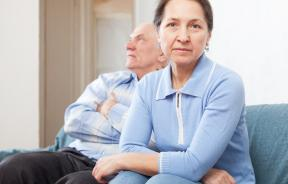 Shutterstock photo of elderly couple