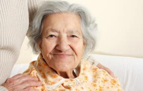 senior deciding on hospice care