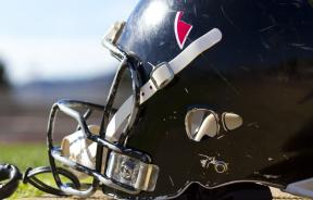 shutterstock photo of football helmet