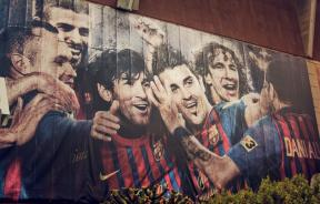 flickr photo of FC barcelona ad