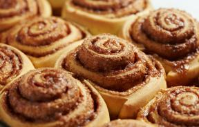shutterstock photo of cinnamon roles
