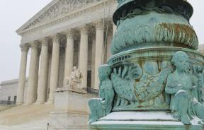shutterstock photo of supreme court blding