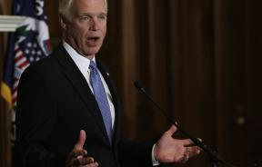 Reuters photo of Senator Johnson