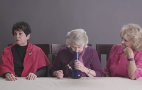 Grannies Smoking Weed