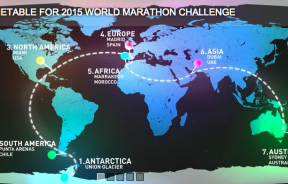 The World Marathon Challenge