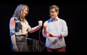 Mind Control: Greg Gage From Backyard Brains Shows Us How To Control Someone's Arm