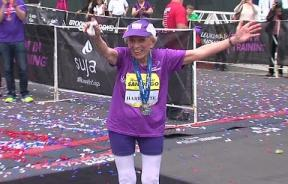 Marathon Record Set By 92-Year-Old Harriette Thompson, Crosses The Line As Oldest Female Finisher