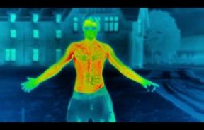 This Thermal Imaging Camera Shows How Quickly Humans Lose Body Heat In The Cold