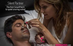 Snore No More: 'Silent Partner' Gadget Uses White Noise To Cancel Out Snoring For A Good Night's Sleep