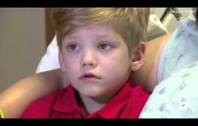 Camden Vaughan, 4, Saves His Mom's Life With A Simple Phone Call To Dad