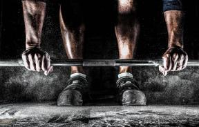 Training with barbell