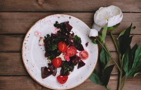 Plate of beets